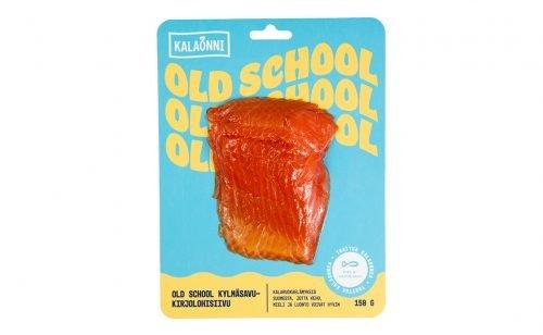 Kalaonni Old School kylmäsavukirjolohisiivu